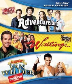 Adventureland/Waiting.../National Lampoon's Van Wilder BRAY Cover Art