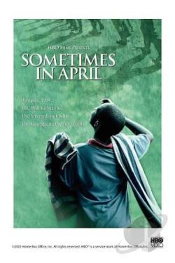 Sometimes in April DVD Cover Art