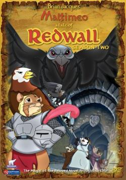 Redwall - Season 2 DVD Cover Art