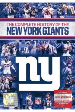 NFL History of the New York Giants DVD Cover Art