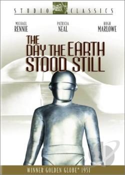 Day the Earth Stood Still DVD Cover Art