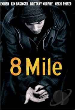 8 Mile DVD Cover Art