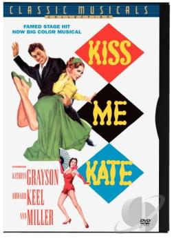 Kiss Me Kate DVD Cover Art