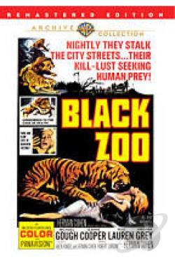Black Zoo DVD Cover Art