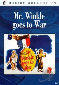 Mr. Winkle Goes to War DVD Cover Art