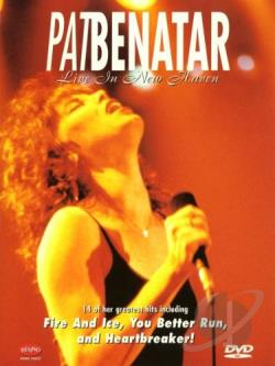 Pat Benatar - Live in New Haven DVD Cover Art