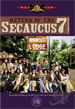 Return Of The Secaucus Seven DVD Cover Art