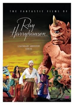 Ray Harryhausen Legendary Monster Series Box Set DVD Cover Art
