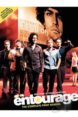 Entourage - The Complete First Season DVD Cover Art