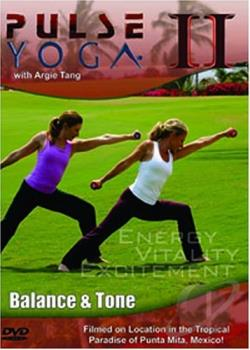 Pulse Yoga II: Balance & Tone DVD Cover Art