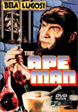 Ape Man DVD Cover Art