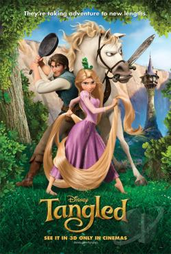 Tangled DVD Cover Art