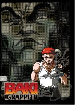 Baki the Grappler - Box Set 1-6 DVD Cover Art