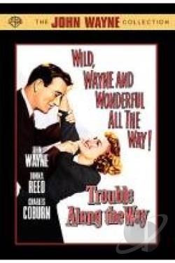 Trouble Along the Way DVD Cover Art