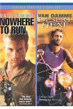 Nowhere To Run/Desert Heat DVD Cover Art