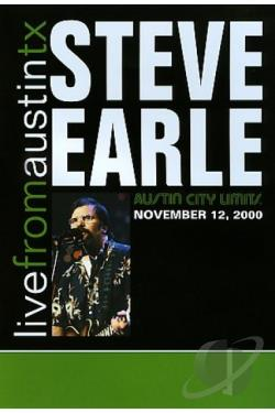 Steve Earle - Live From Austin TX Vol. 2 DVD Cover Art