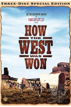 How the West Was Won DVD Cover Art