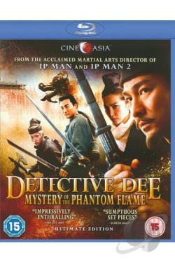 Detective Dee and the Mystery of the Phantom Flame BRAY Cover Art
