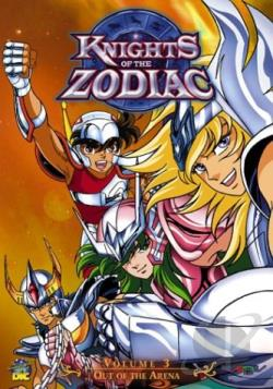 Knights of the Zodiac - Vol. 3: Out of the Arena DVD Cover Art