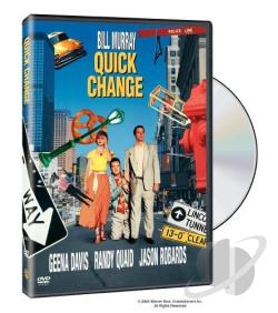 Quick Change DVD Cover Art