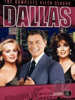 Dallas - The Complete Fifth Season DVD Cover Art