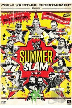 WWE: Summerslam 2009 DVD Cover Art
