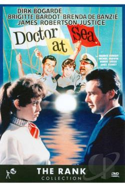 Doctor at Sea DVD Cover Art