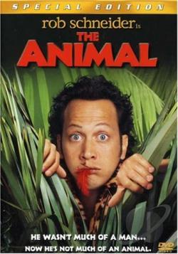 Animal DVD Cover Art