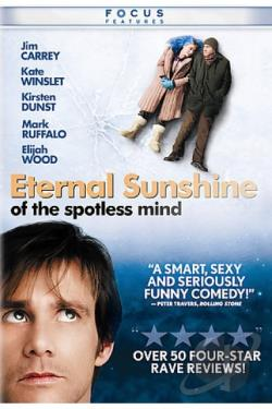 Eternal Sunshine of the Spotless Mind DVD Cover Art