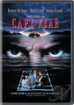 Cape Fear DVD Cover Art