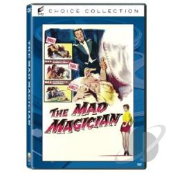 Mad Magician DVD Cover Art
