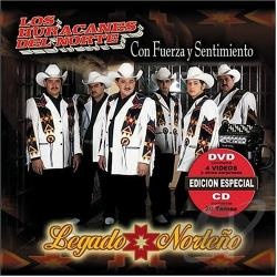 Huracanes Del Norte - Legado Norteno CD/DVD DVD Cover Art