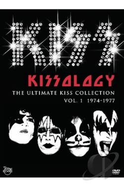 KISS - Kissology Vol. 1 - 1974 - 1977 DVD Cover Art