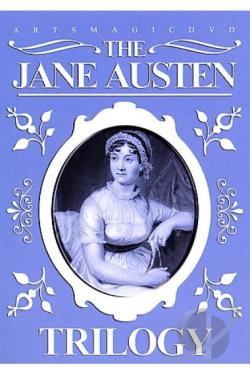 Jane Austen Trilogy DVD Cover Art