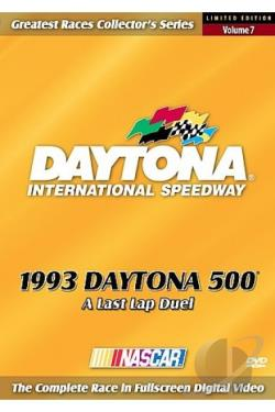 1993 Daytona 500 DVD Cover Art