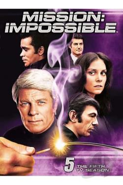 Mission: Impossible - The 5th TV Season DVD Cover Art