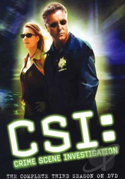CSI: Crime Scene Investigation - The Complete Third Season DVD Cover Art