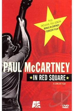 Paul McCartney In Red Square DVD Cover Art