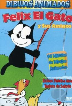 Felix The Cat & Friends DVD Cover Art