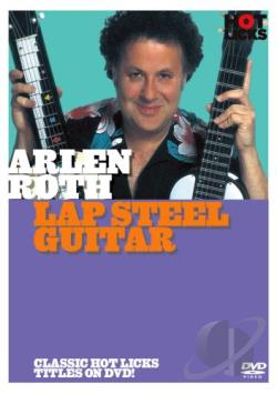 Arlen Roth: Lap Steel Guitar DVD Cover Art