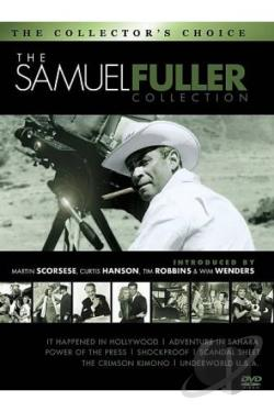 Samuel Fuller Film Collection DVD Cover Art