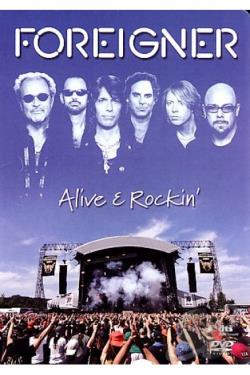 Foreigner - Alive And Rockin' DVD Cover Art