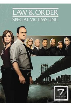 Law & Order: Special Victims Unit - The Seventh Year DVD Cover Art
