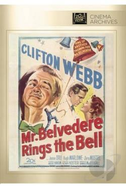 Mr. Belvedere Rings the Bell DVD Cover Art