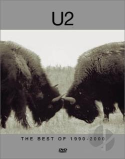 U2 - The Best of 1990-2000 DVD Cover Art