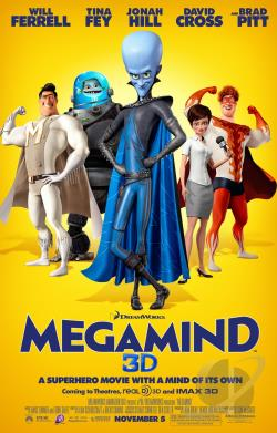 Megamind DVD Cover Art