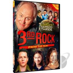 3rd Rock from the Sun - Season 3 DVD Cover Art