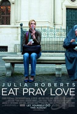 Eat Pray Love DVD Cover Art