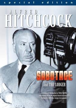 Sabotage/The Lodger DVD Cover Art