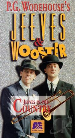 Jeeves & Wooster - Jeeves In The Country VHS Cover Art